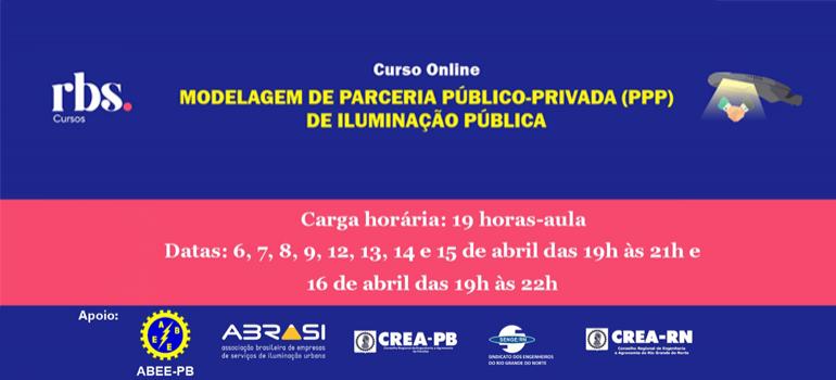CURSO ONLINE Modelagem de PPP de Iluminação Pública